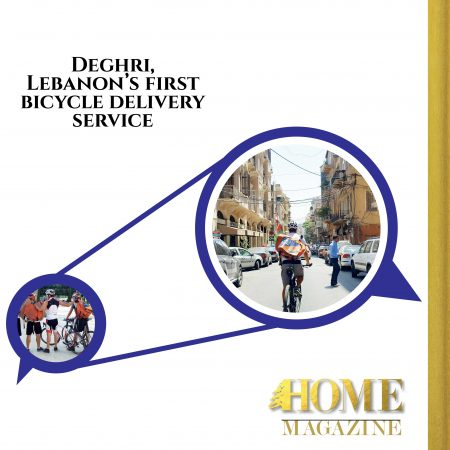 """Deghri, Lebanon's first bicycle delivery service"""