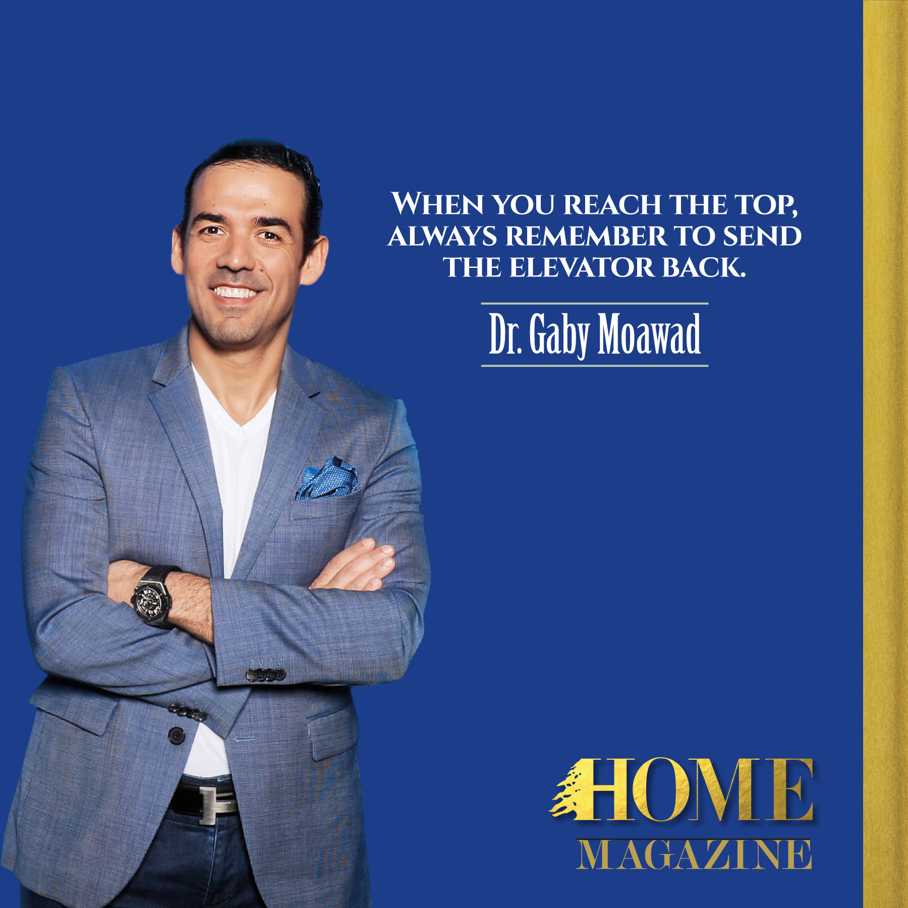 Walking with Dr. Gaby Moawad through his journey to Washington