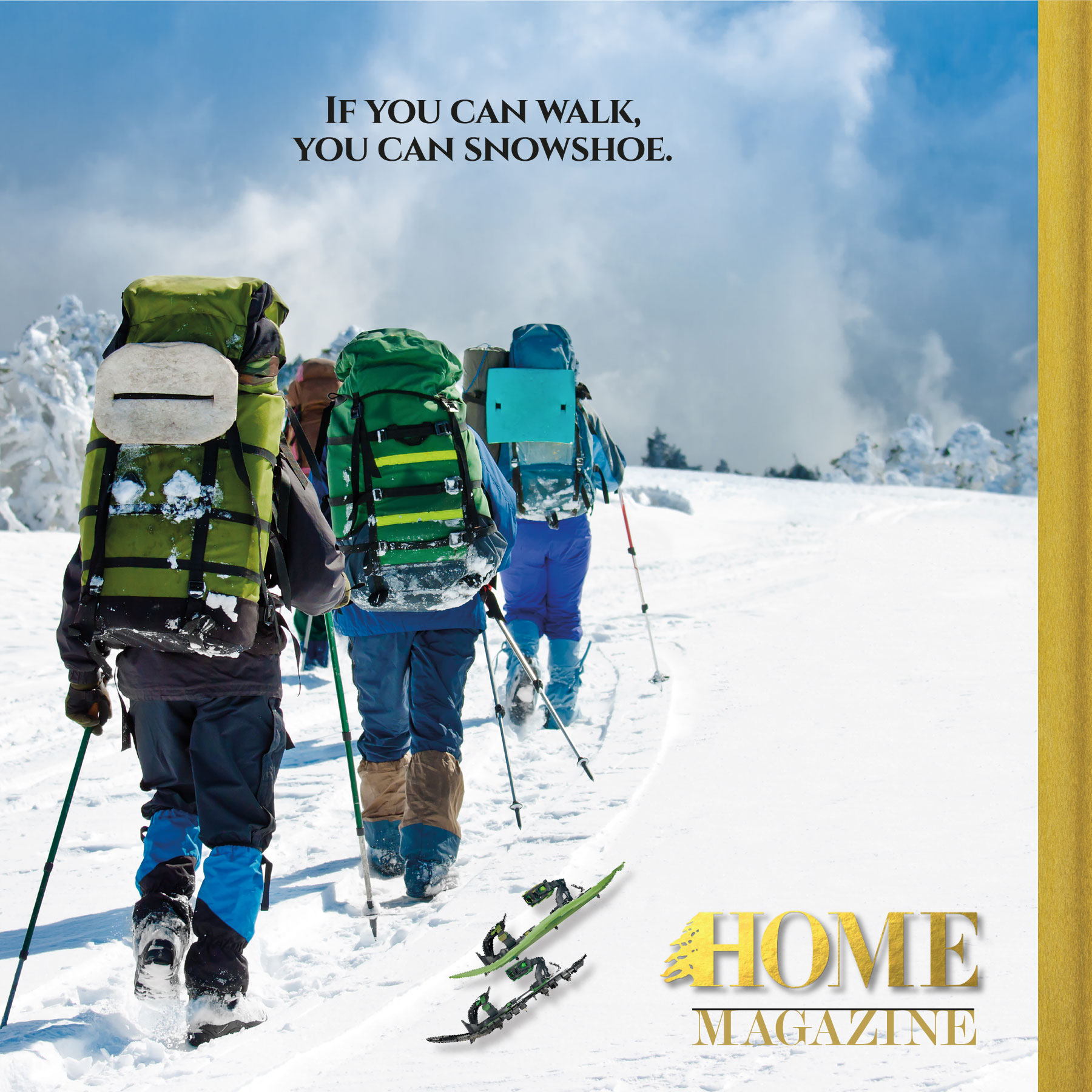 Spice Up Winter in Lebanon with Snowshoeing
