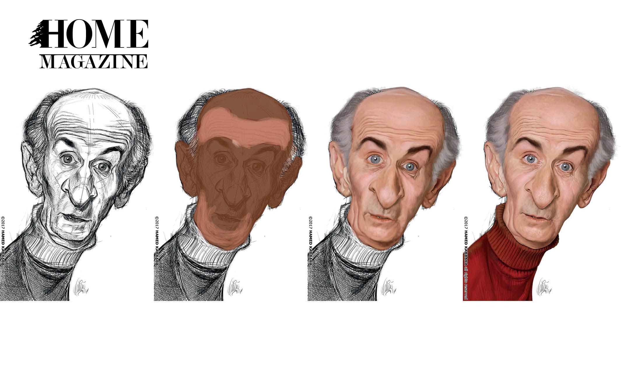 Appreciating the Art of Caricature Drawing with Hamed Kabbara