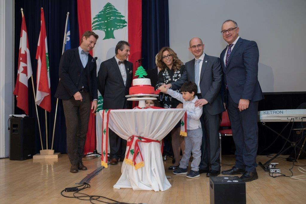 Indépendance du Liban à Montréal