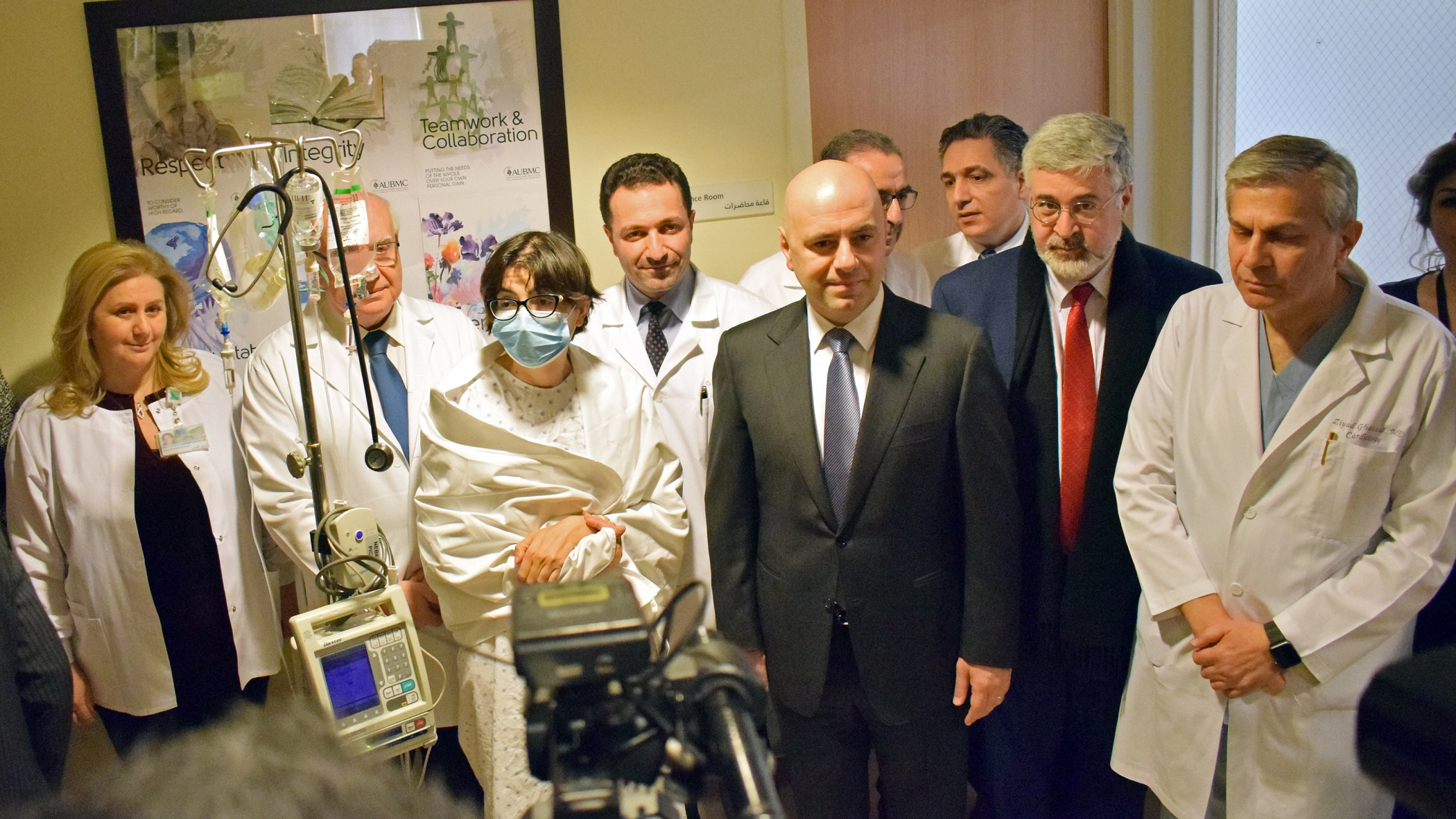 AUBMC Performs the First Lung Transplantation in Lebanon