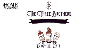 The Three Brothers in writing and drawing