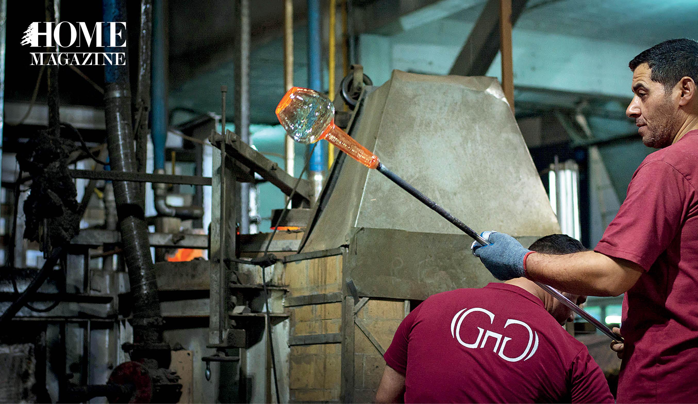 Glass pitcher making