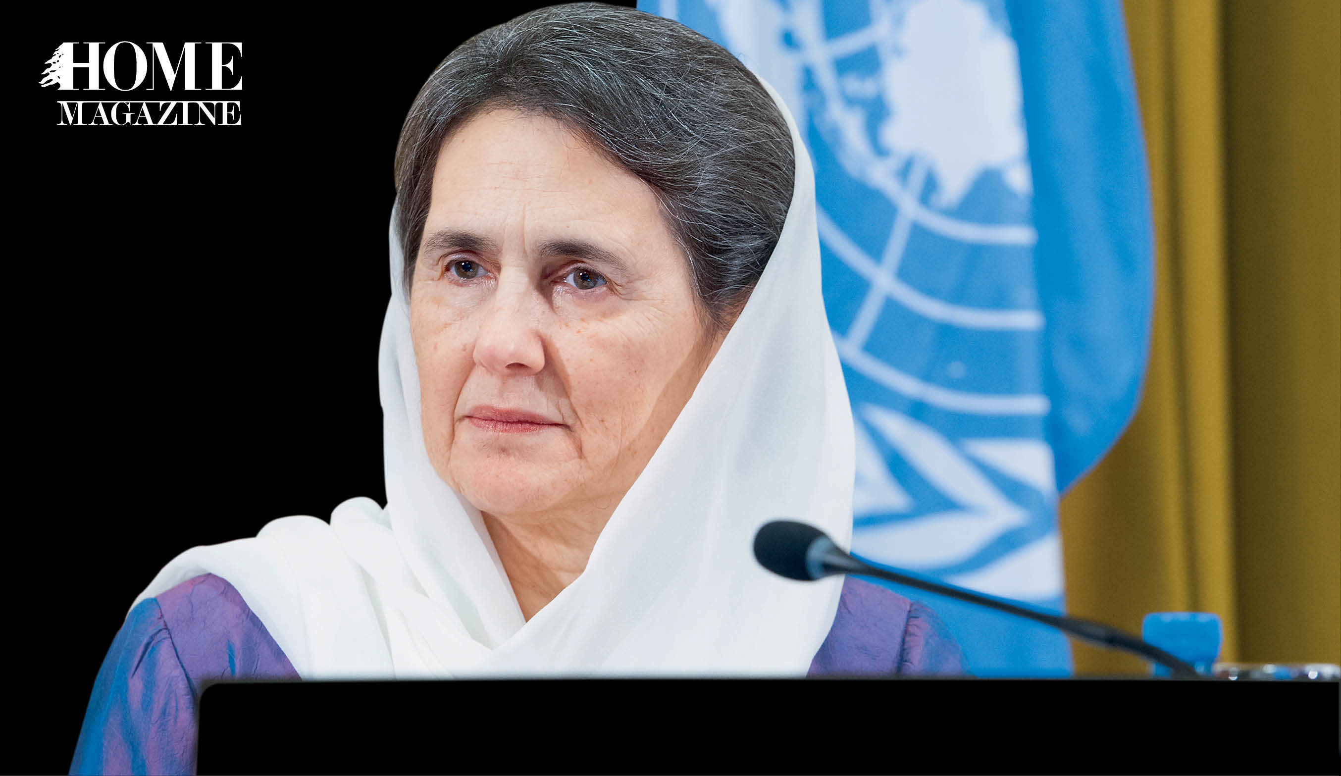 Walking with Purpose, HOME Interviews Her Excellency, First Lady of Afghanistan Rula Ghani