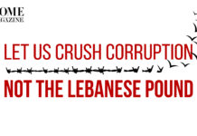 Let Us Crush Corruption Not the Lebanese Pound