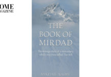 Book blue cover with title The Book of Mirdad
