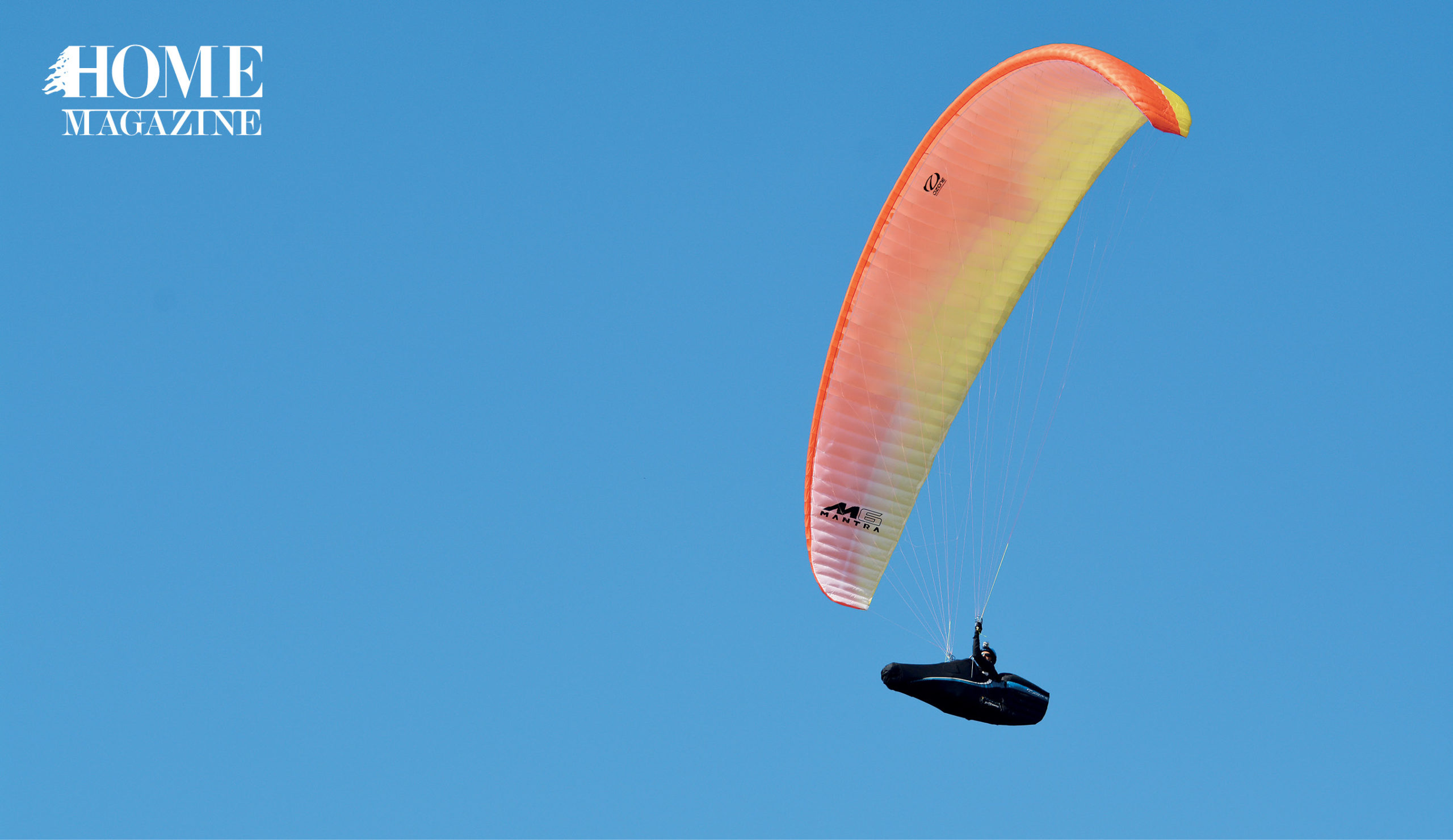 A Bird's Eye View With Lebanon's Paragliders