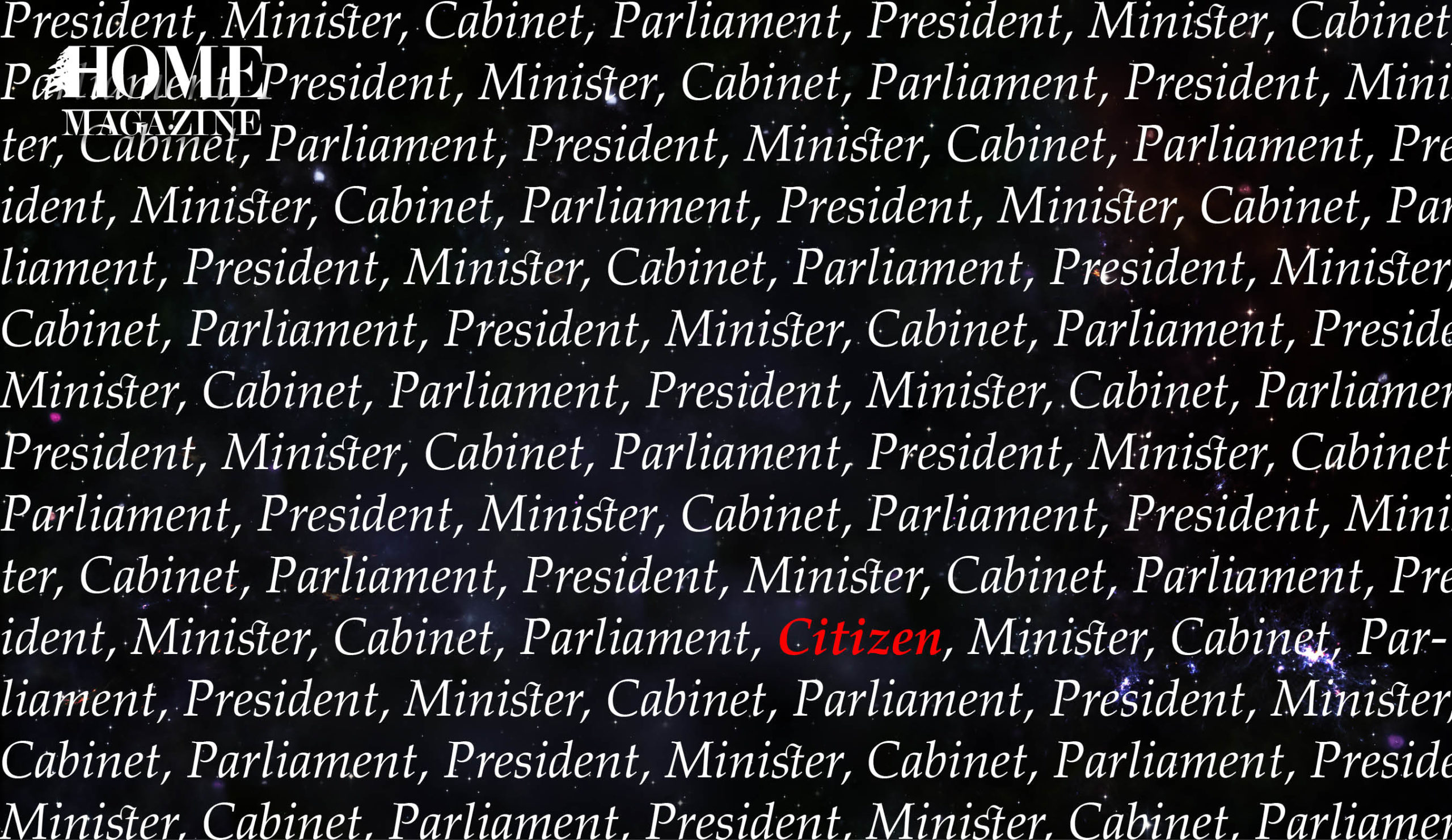 Is it true that in Lebanese Constitution the words president, minister and parliament are mentioned more than 260 times, whereas the word citizen is mentioned only ONCE?