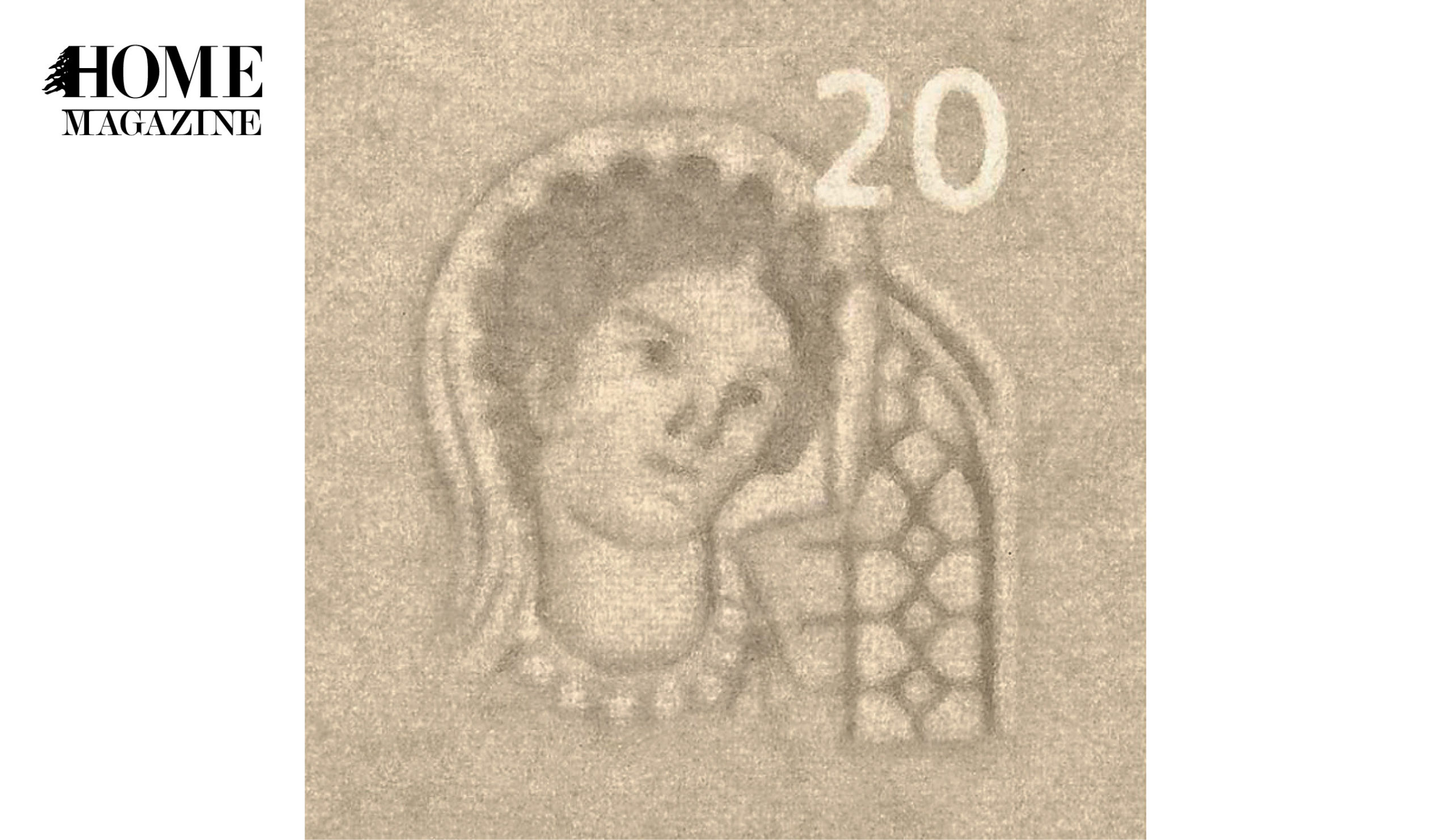 Woman portrait on a banknote