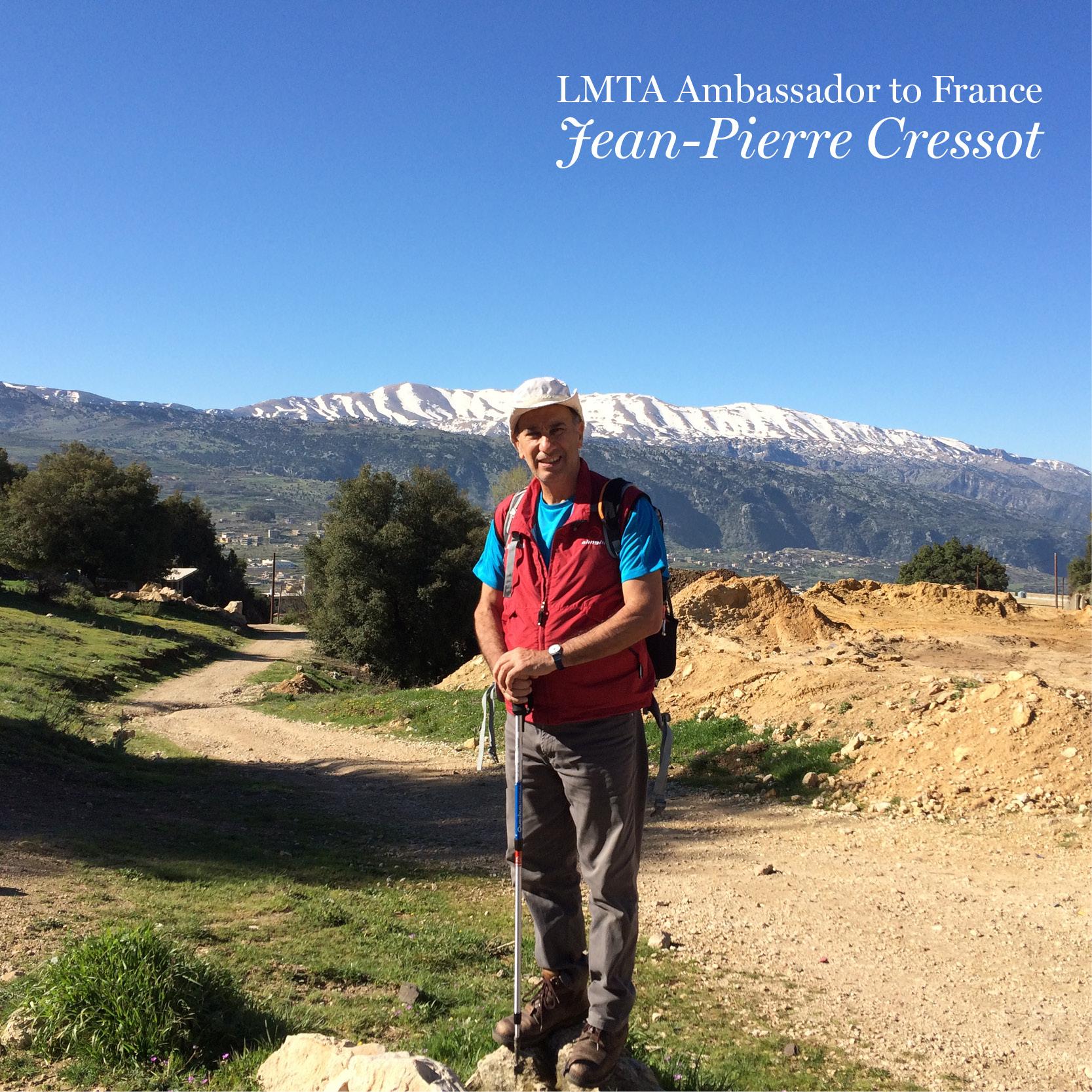 Jean Pierre Cressot, LMTA