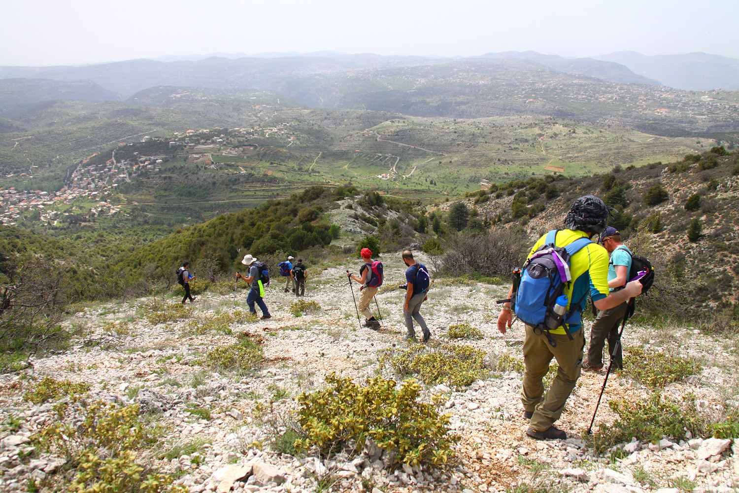 """Baskinta """"You can take the boy out of the village, but you can't take the village out of the boy."""" Joseph Ghaleb Karam, founder of the Lebanon Mountain Trail and president of the American Friends of the Lebanon Mountain Trail"""